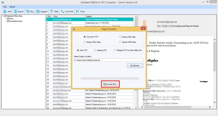 Convert MBOX Files