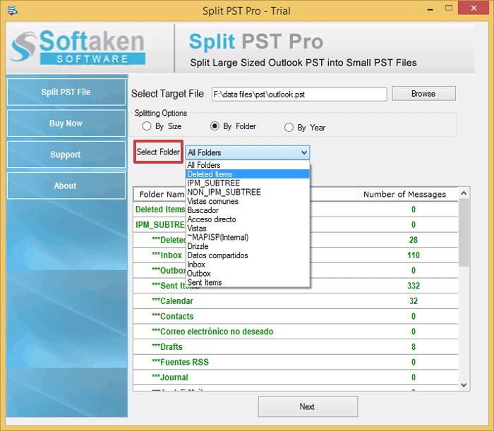 Split by Folder